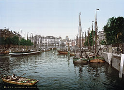 Port of Rotterdam<br>between 1890 and 1905