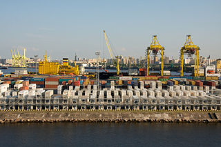 Container Terminal<br>Port of St. Petersburg