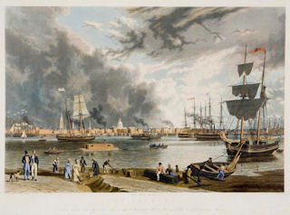 New Orleans<br>1841 color engraving