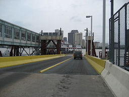 Algiers to Canal Street ferry - New Orleans