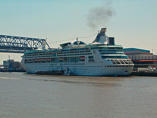 <i>Grandeur of the Seas</i> at New Orleans