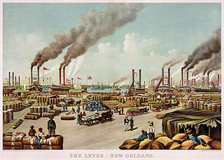 The levee, New Orleans<br>1884