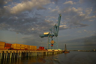 Cargo terminal - New Orleans